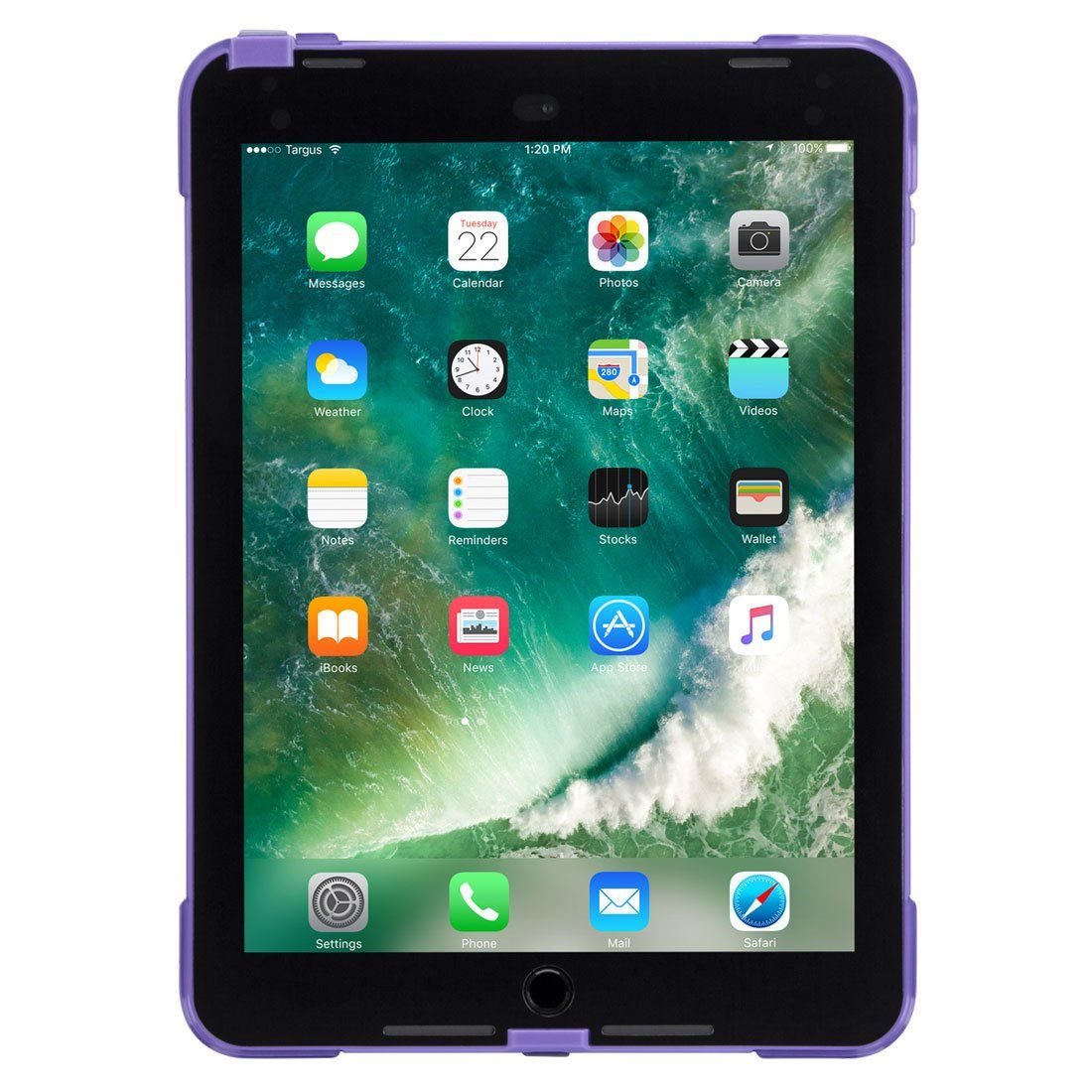 SafePort® Rugged Case for iPad® (6th gen./5th gen.), iPad Pro® (9.7-inch), and iPad Air® 2 (Purple)