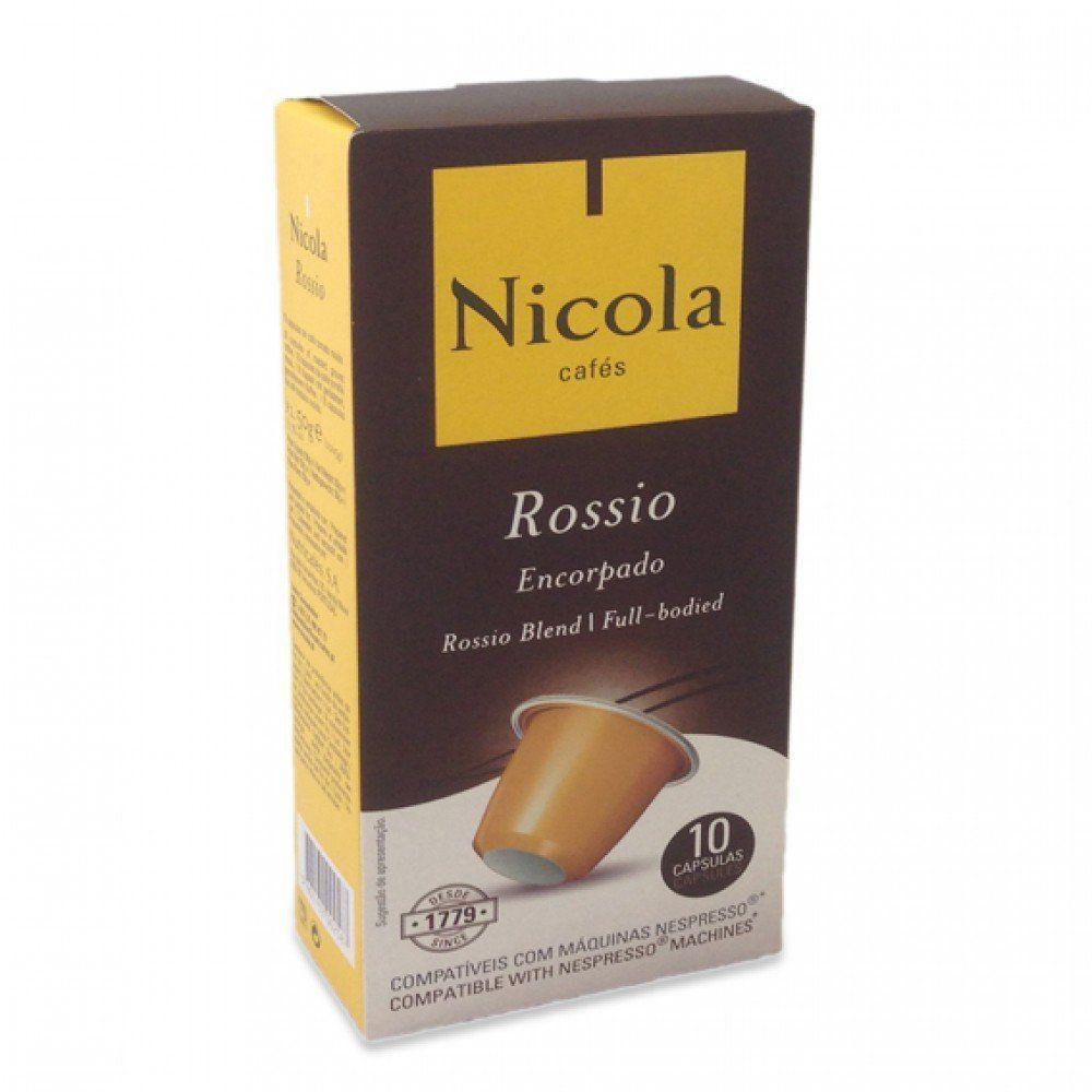 Nicola Rossio Espresso Capsules 10pk Great tasting