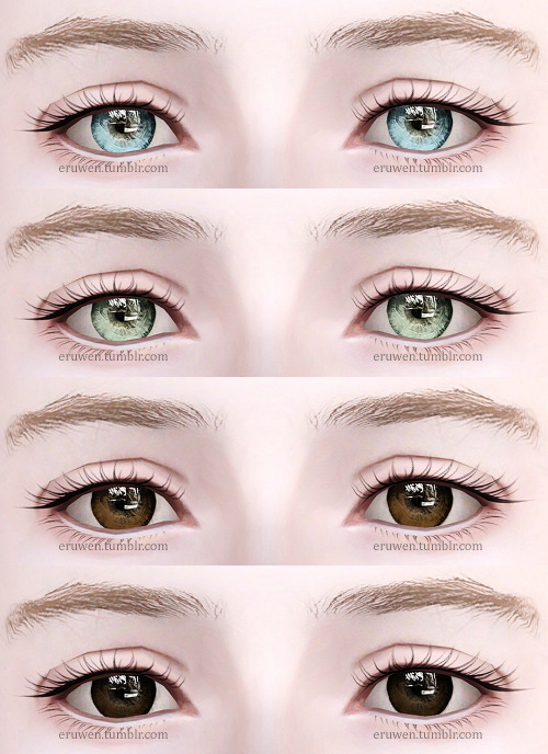 10 Best Realistic Eyes for Sims 3