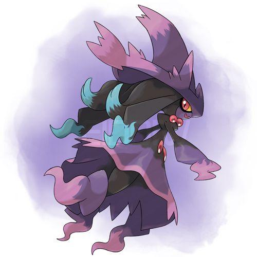 Mega Mismagius By Eiddiw Fakemon Fake Pokemon