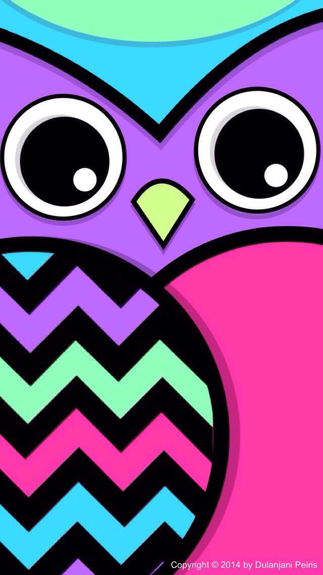 Cute Colorful Owl Owl Wallpaper Cute Owls Wallpaper Owl Background
