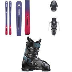 newest d7f0a fd169 Atomic Vantage 86 C W Skis - Women's + Warden MNC 13 ...
