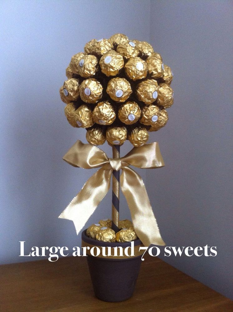Lindt Lindor Ferrero Rocher Sweet Tree In Home Furniture Diy Food Drink