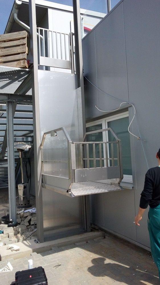 Rollstuhllift Fahrstuhl Plattformlift Treppenlift Rollstuhl HebebÜhne Lift Business & Industrie Treppenlifte & Aufzüge