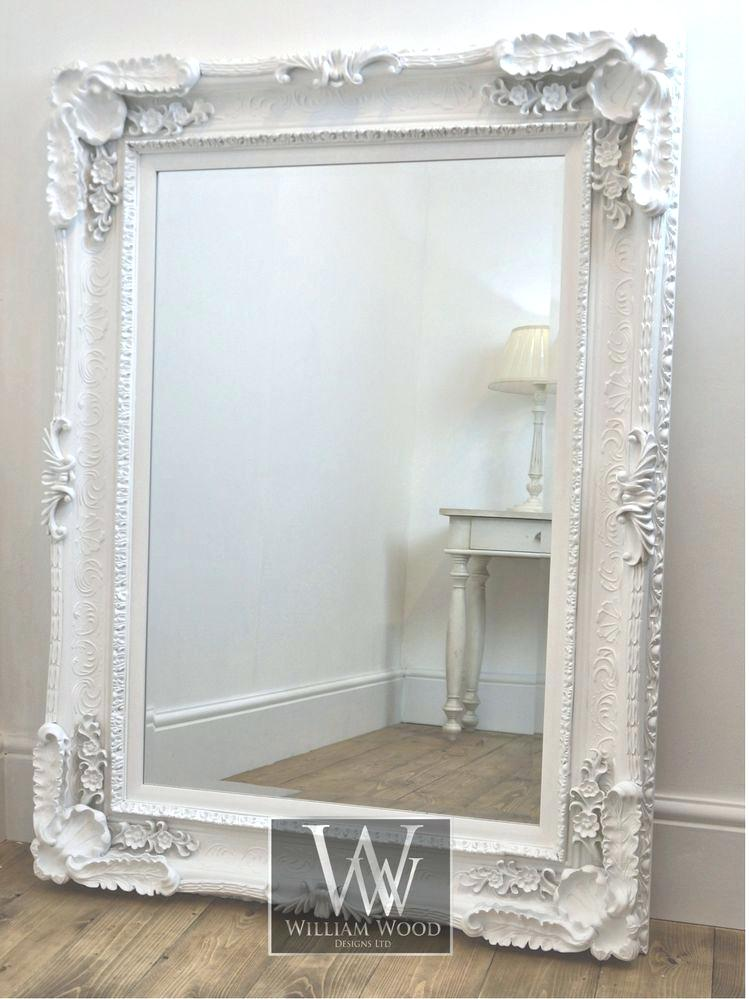 Wall Mirrors Antique Large Victorian Ebonized Gilt Mirror Decorative Ornate Decoration Rare Styl In 2020 White Ornate Mirror Shabby Chic Mirror Wall Mirror Dining Room