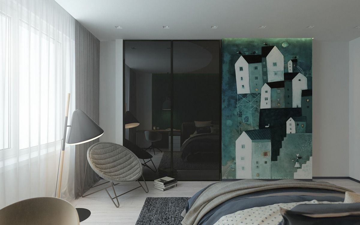 "Bedroom With Art  Tus ""me Gusta"" De Pinterest  Pinterest Simple Living Room Showcase Design Review"