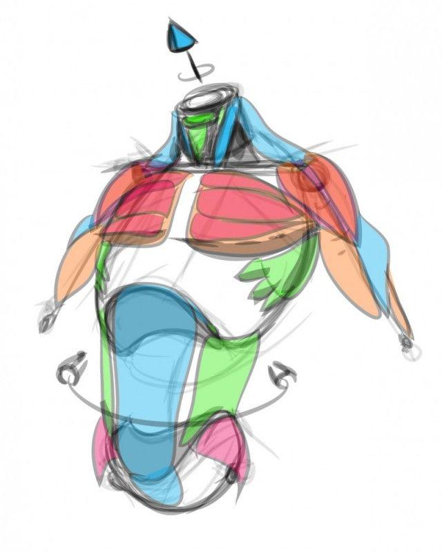 Anatomy Tutorial - PRODUCT SKETCH | Pinterest - Anatomie, Studie en ...