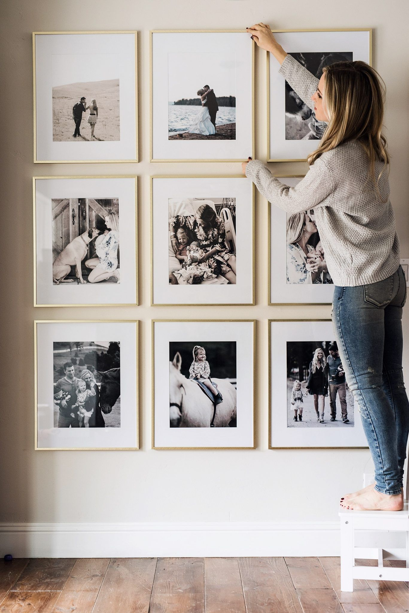 Picture Frame Wall Easy Home Decor Frames On Wall