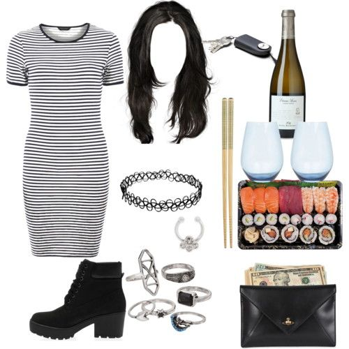 dinner date wit bestie by bluemob on Polyvore featuring polyvore fashion style Dorothy Perkins Vivienne Westwood Mudd Wedgwood Crate and Barrel