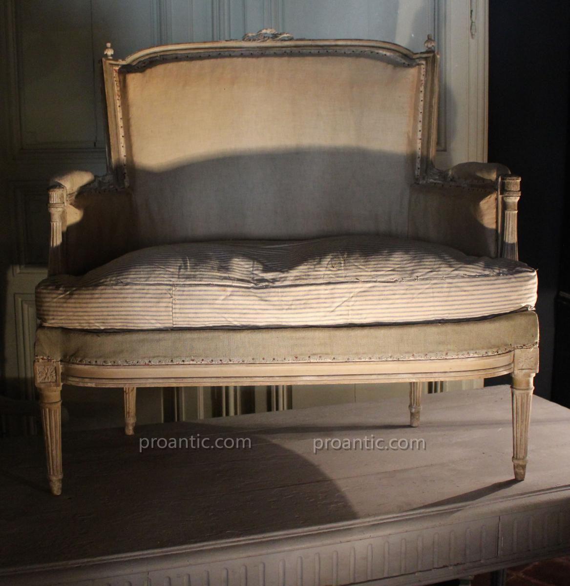 petite banquette louis xvi galerie de la madeleine. Black Bedroom Furniture Sets. Home Design Ideas