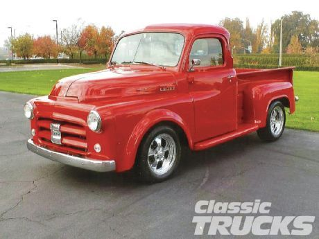 1951 Dodge I Want This When I Retire With A Horn Like The General Lee Vintage Pickup Trucks Classic Trucks Dodge Pickup