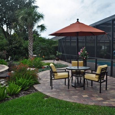 Swimming Pool Cage Landscaping 9 535 Pool Enclosure Landscape Design Photos Tropical Pool Landscaping Landscaping Around Pool Pool Landscaping