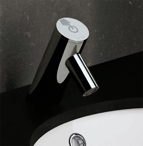 Electronic Bathroom Faucet from Sanindusa - the Spot touch faucet ...