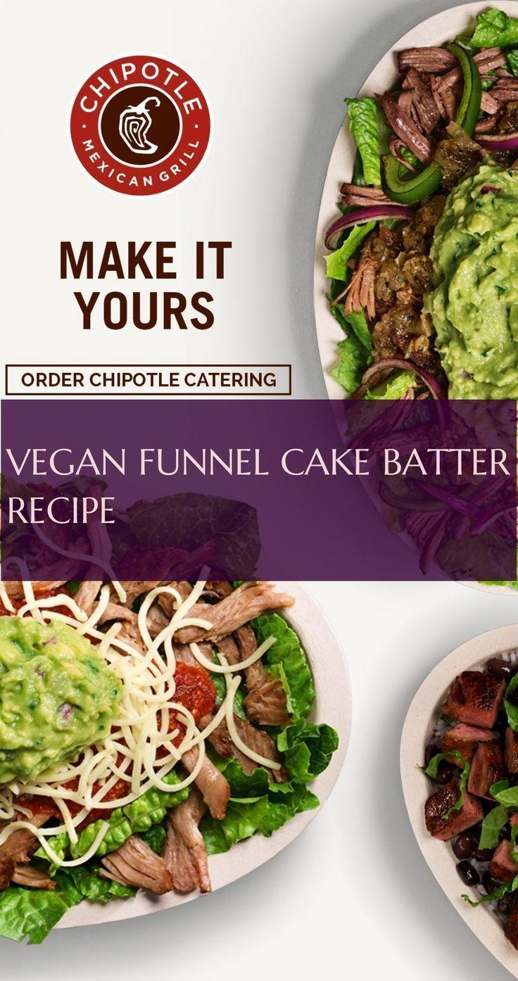 Receta vegana de masa para pastel de embudo # Receta vegana de masa para pastel de embudo # - #batter #fu ...
