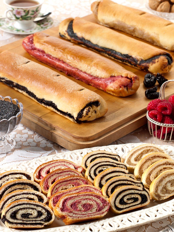 Traditional European Nut Roll Pastry   Nut roll recipe ...