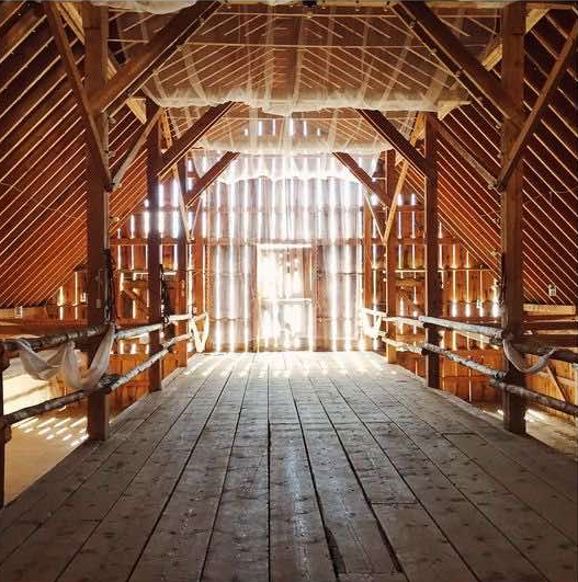 Barn Interior Wedding Venue Ideas
