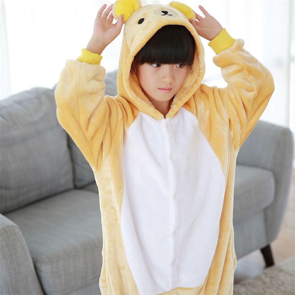 Click to buy ucuc winter children pajamas kuma bear baby boys