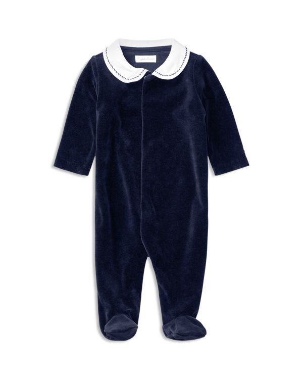 0bce51e98405 Ralph Lauren Childrenswear Boys  Velour Coverall - Baby
