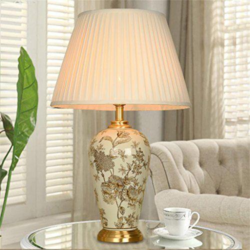 Chinese retro Keramik-Lampe Wohnzimmer den Schlafzimmer N https