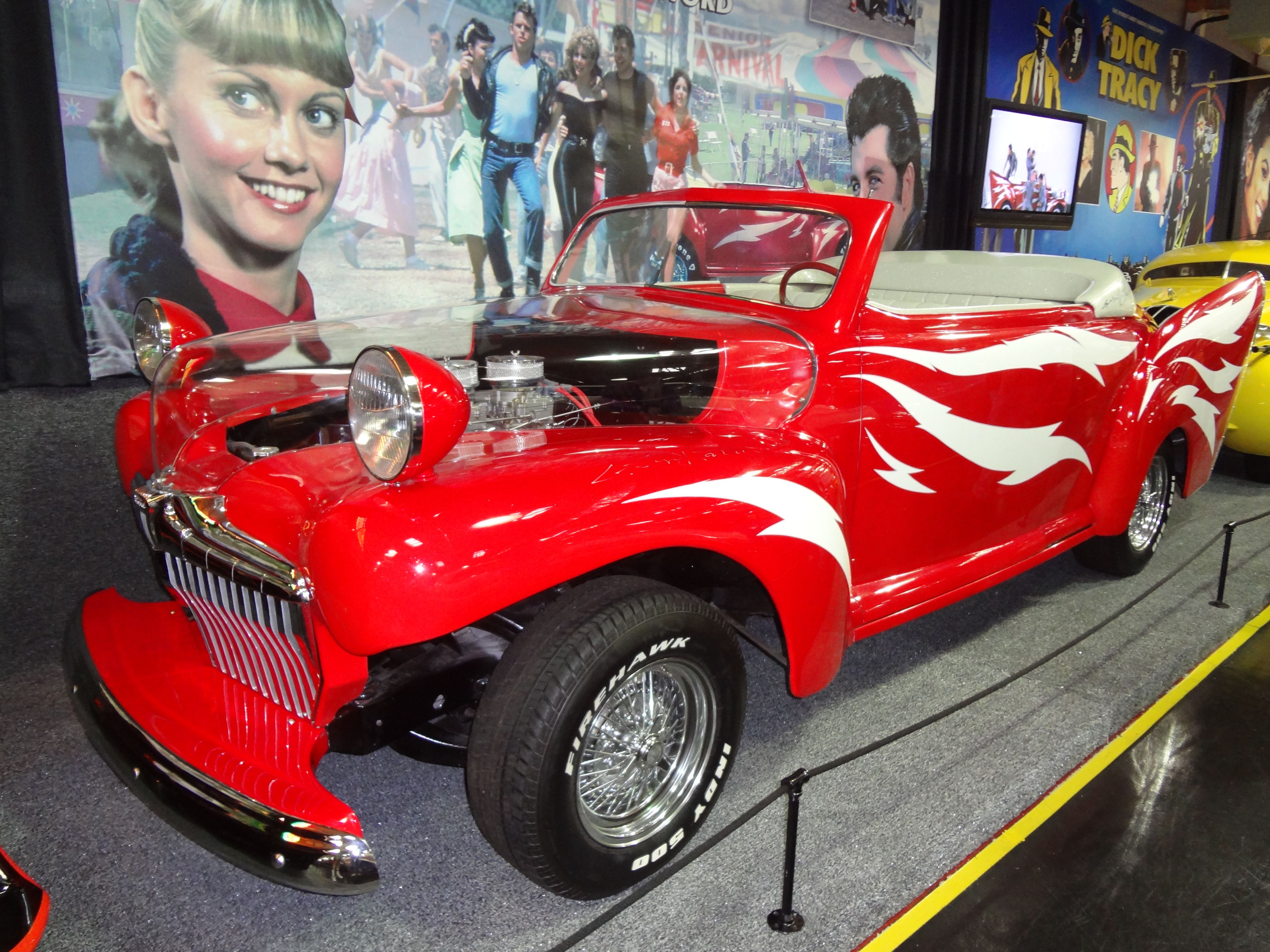 Grease lightning cars movie tv cars famous vehicles