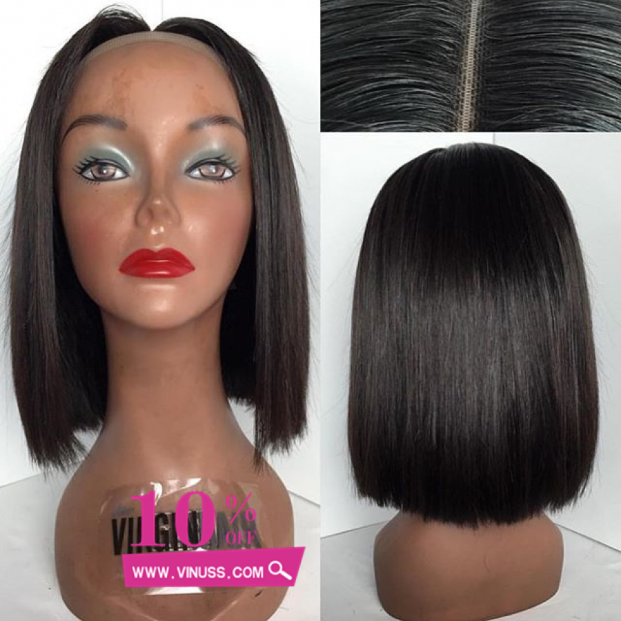 10inch 16inch Short Bob Hairstyles Human Hair Wigs 100 Peruvian Virgin Full Lace Human Hair Wigs For Black Women Hair Styles Silk Base Wig Bob Hairstyles