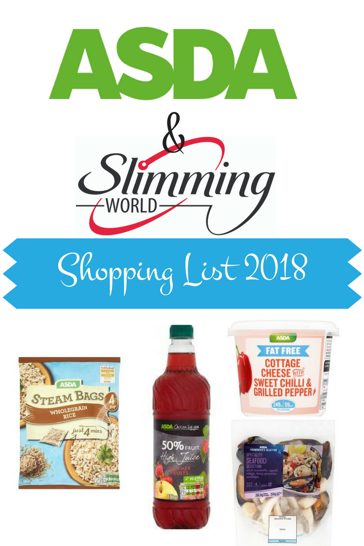 Wondrous Shopping List Of Low Syn And Syn Free Foods From Asda On The Download Free Architecture Designs Scobabritishbridgeorg