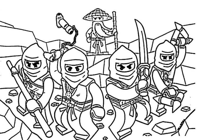 ausmalbilder ninjago zum ausdrucken ausmalbilder von