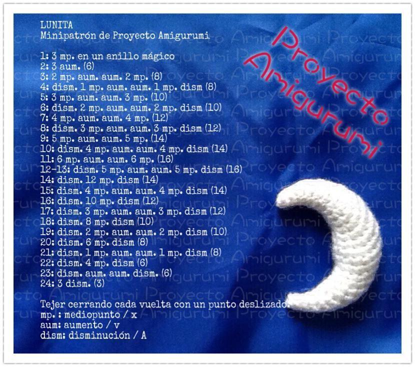 Luna Amigurumi - Patrón Gratis en Español   Amigurumi   Pinterest ...