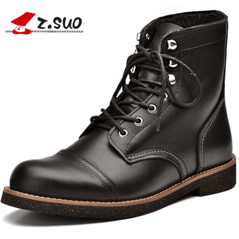 Vintage Motorcycle Boots Designer Luxury Boots For Men Winter ...