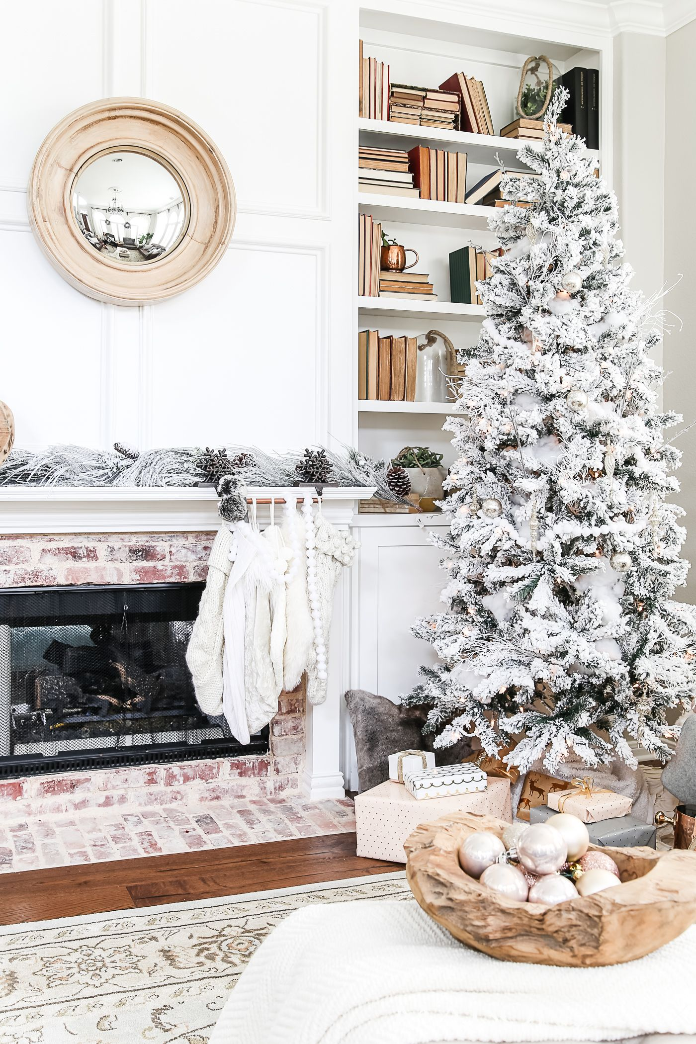 Simple Holiday Decorating: Christmas Home Tour | Ornament, Holidays ...