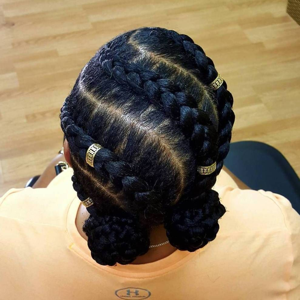 Inspiring Examples of Goddess Braids Goddess braids Goddesses