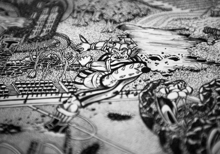 Honda Creates A Mythical Map For An Iconic Motorcycle Race Racing Motorcycles Tourist Racing