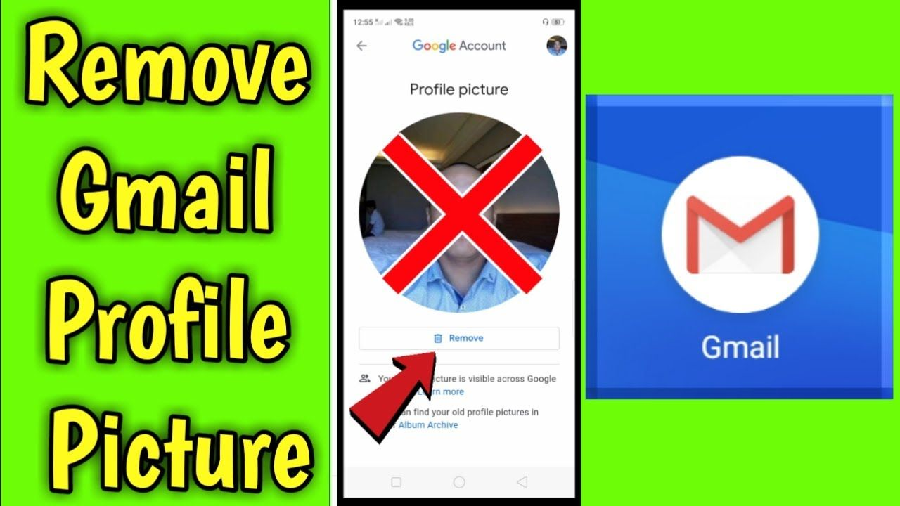 How To Remove Gmail Profile Picture In Mobile Profile Picture Gmail Profile