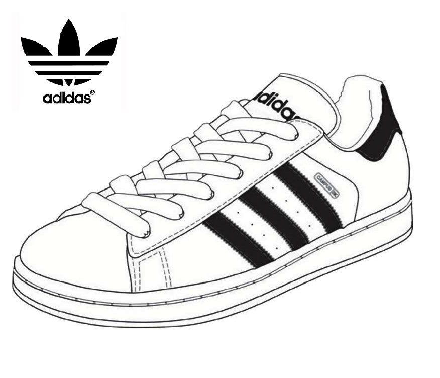 Stress Melting Adidas Shoes Coloring And Sketch Pages Coloring Pages Adidas Tennis Shoes Shoes Clipart Adidas