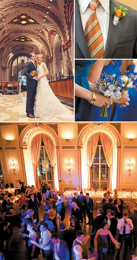 """Real Wedding Spotlight """"Our Favorite Building in the City"""