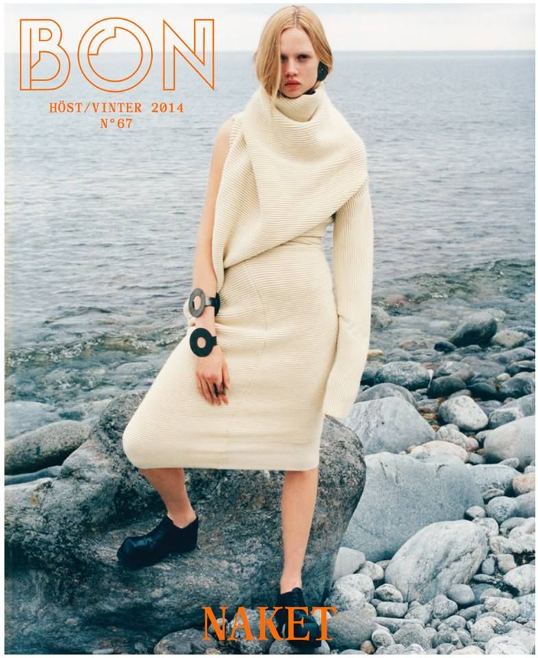 Photographed by Tung Walsh and styled by Marcus Soder on the cover of BON Autumn/Winter 2014.