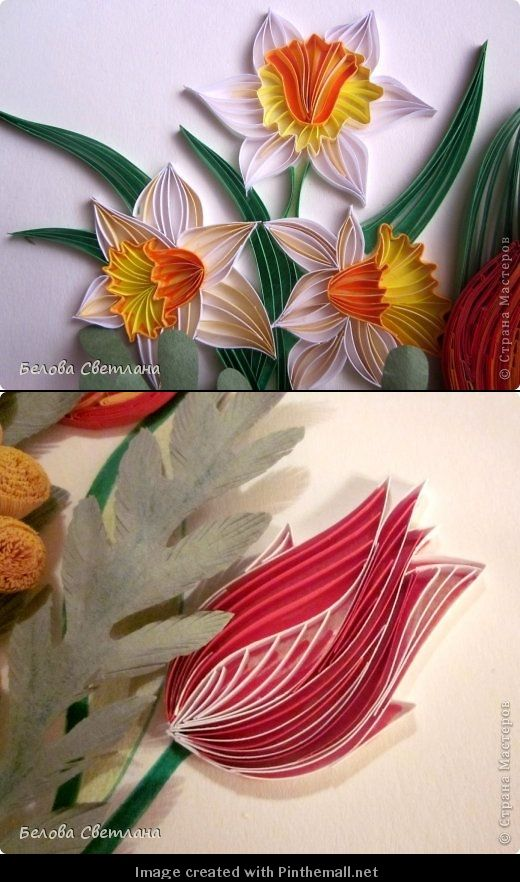 Paper Filigree Art Quilling Spring Cards With Bees And Flowers By Francine Jones Http Quillc Quilling Designs Origami And Quilling Quilling Patterns