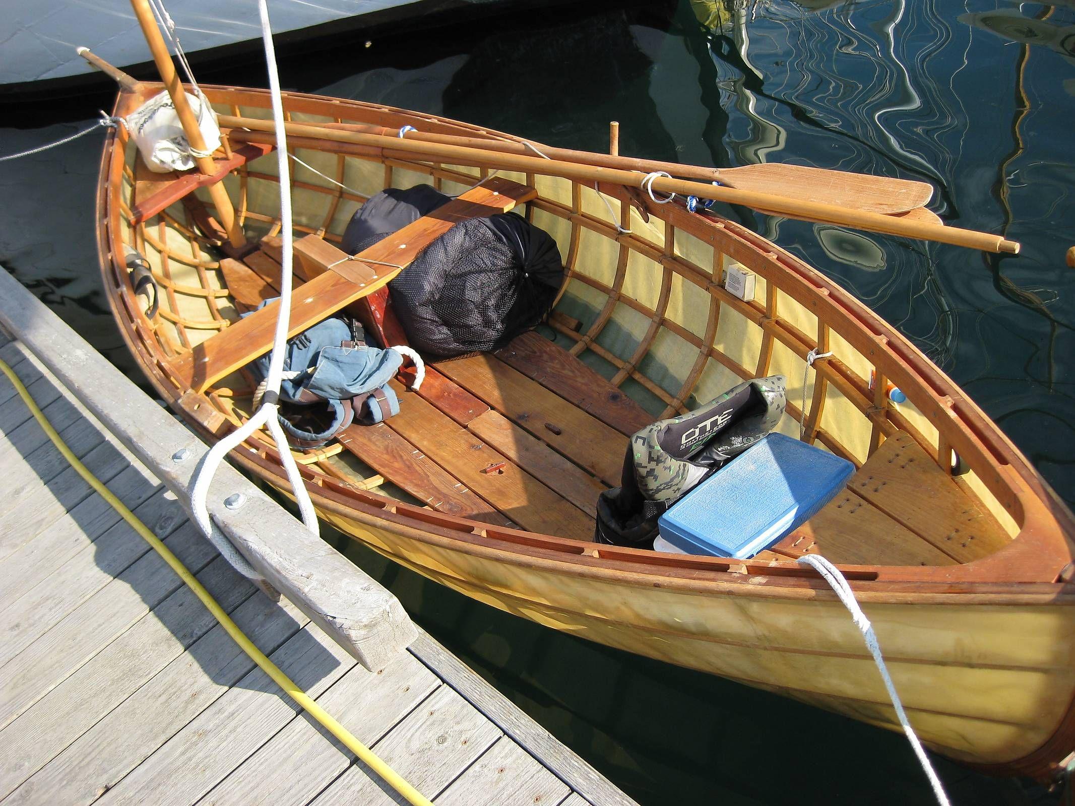 skin on frame canoe | Skin on frame dory - why not? - Boat Design ...