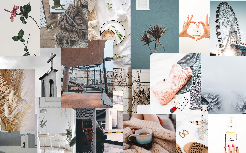 dope beige aesthetic vintage macbook wallpaper free