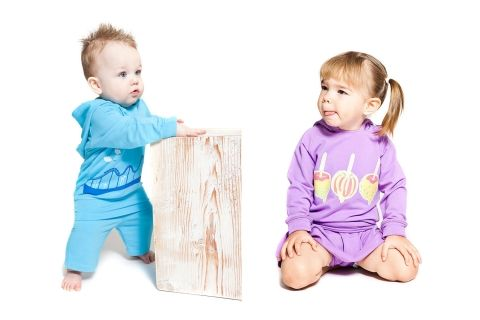 Love the rear zipper on this hoodie! Little Bambino Zip Set - 51% off