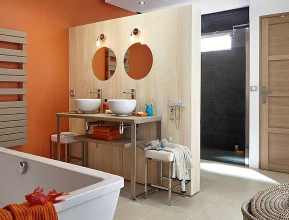 La salle de bains familiale selon Leroy Merlin Salles de bains
