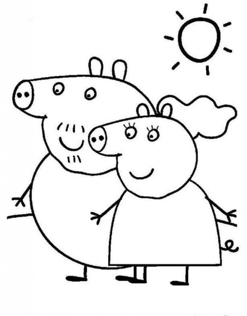 Top 10 Peppa Pig Coloring Pages Of 2017 You Haven\'t Seen Anywhere
