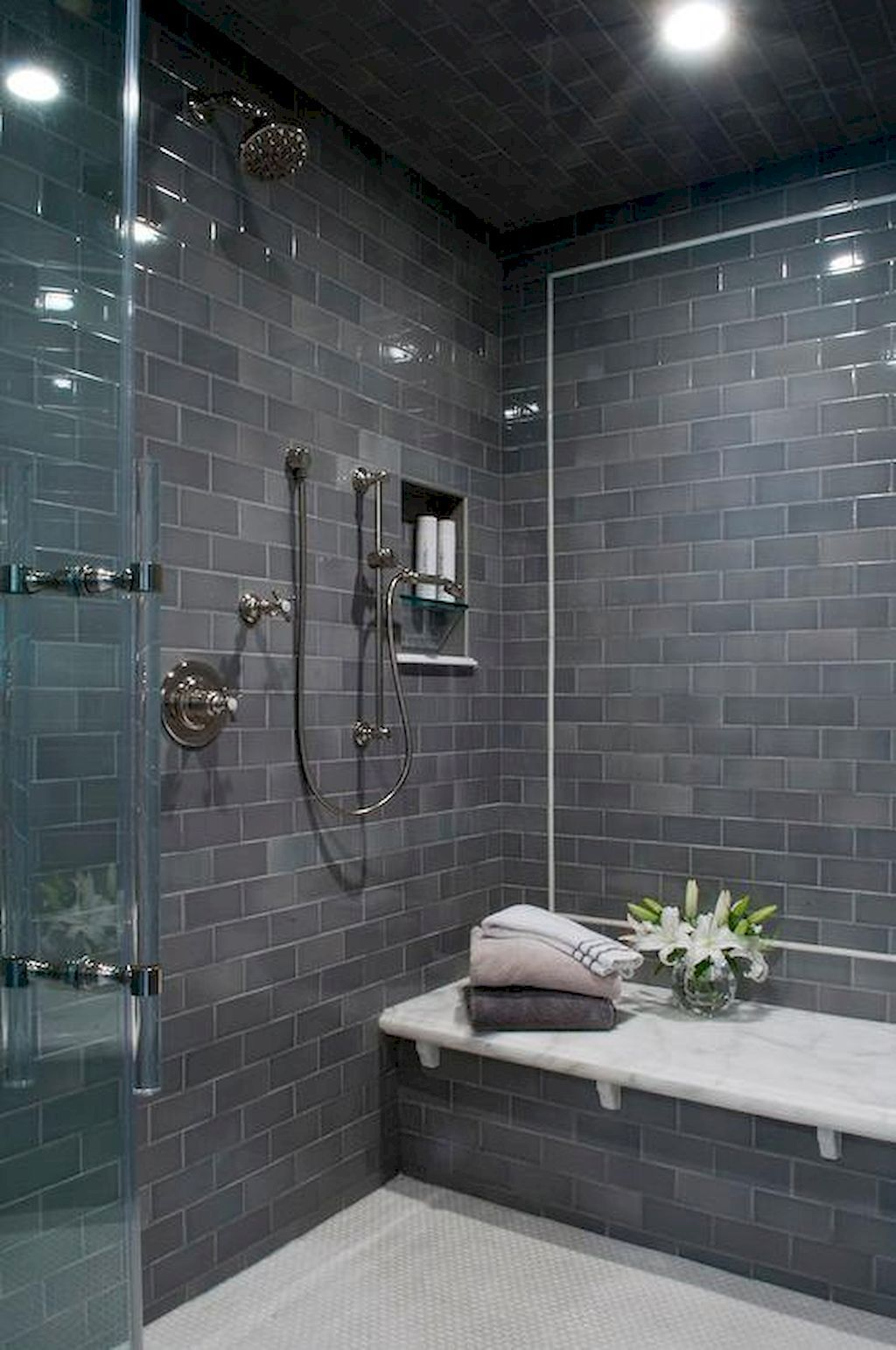 80 Stunning Tile Shower Designs Ideas For Bathroom Remodel