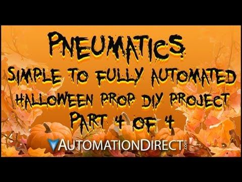 Halloween Prop DIY - Pneumatics, Part 4 of 4 - From Simple to Fully - how to make halloween decorations youtube