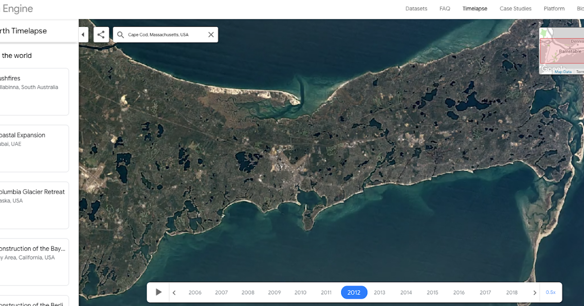 Google Earth Timelapses and Historical Imagery | Web Pixer