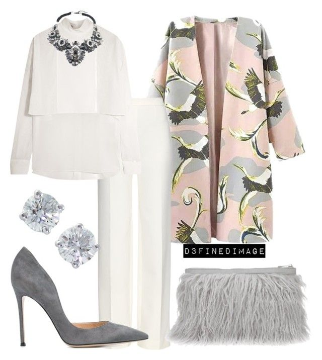 """""""Glam Chic 2"""" by d3finedimage on Polyvore featuring Diane Von Furstenberg, Valentino, Gianvito Rossi and Tiffany & Co."""