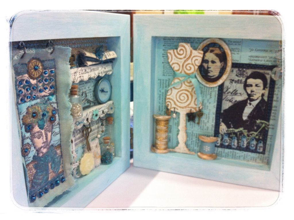PaperArtsy: Fresco {Chalk} Acrylics- a 'how to' reference