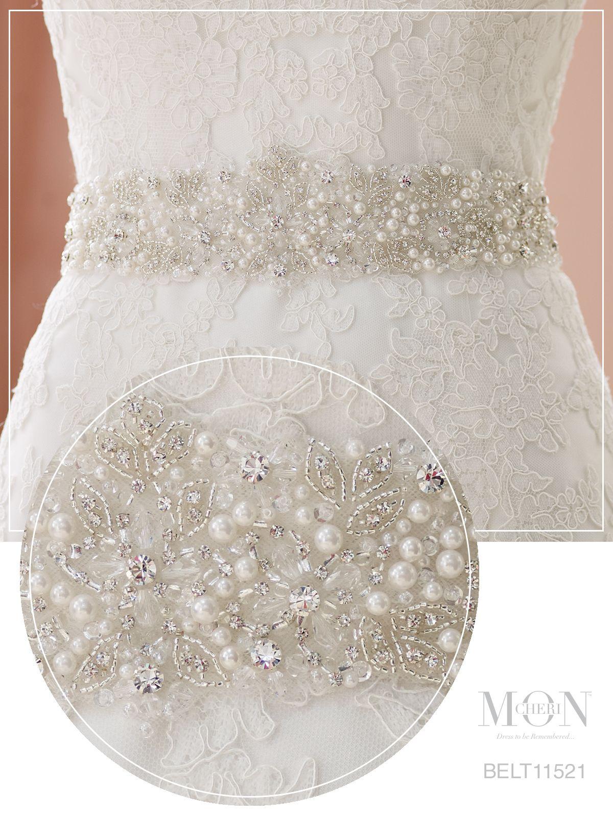 Pearl belt for wedding dress  Tracie Snow tracie on Pinterest
