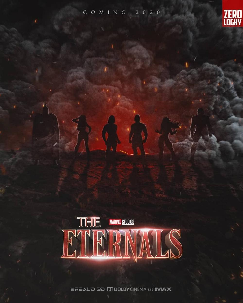 Znalezione obrazy dla zapytania eternals 2020