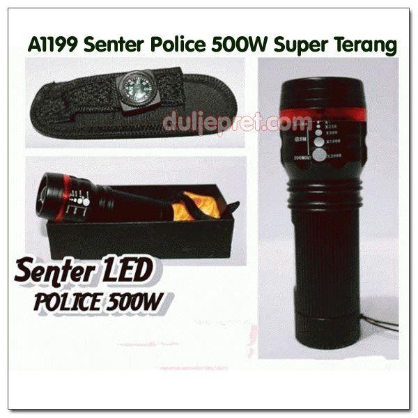 A1199 Senter Police 500W Super Terang